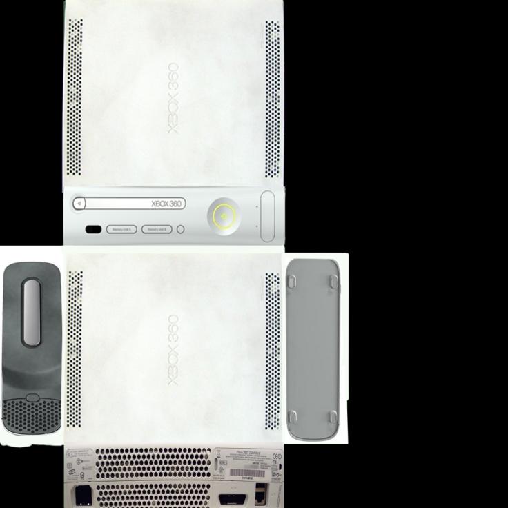 UV Map Xbox 360 003